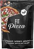 nu3 Fit Pizza baja en carbohidratos - 270 g de harina para pizza proteica sin levadura - 100% pizza...