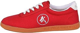 Unisex Scarpe Antiche Cinese Pratica Tradizionale di Pechino Scarpe Kung Fu Tai Chi Gomma Sole