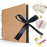 Koooper Libro Aventuras up, Álbum de Fotos DIY, Album up, Tijeras, Pegatinas...