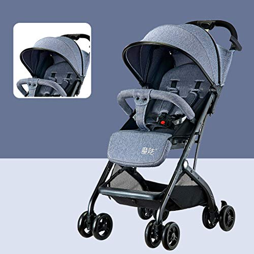 Find Discount STRR Pram, Convertible Reclining Stroller, Foldable and Portable Stroller Baby Carriag...