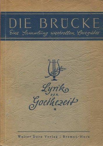 Lyrik der Goethezeit