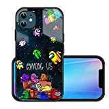 A_mong us Phone case for iPhone 11 - Clear Phone case iPhone 11 Silicone,Shockproof wateroroof Cartoon Durable case for iPhone 11 Designer case,Among us iPhone 11 Protective case for Women.6.1inch