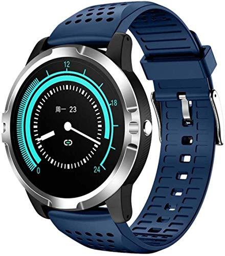 Reloj inteligente para hombre ECG PPG HRV reloj inteligente de ritmo cardíaco Fitness Trackers con recepción / hacer llamada, control de presión arterial de oxígeno IP67 resistente al agua - C