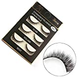 NewKelly 1 Box Luxury 3D False Lashes Fluffy Strip Eyelashes Long Natural Party