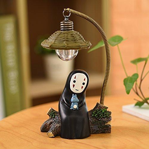 TOLLSAL KS868-Y023 - Lámpara de mesa para niños, juguete para decoración del hogar, manualidades, luces decorativas (luz con Totoro)