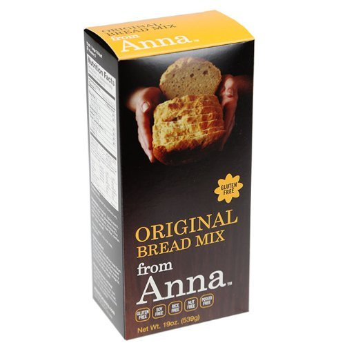 Breads from Anna, Gluten Free Bread Mix, Soy Rice and Nut Free, 19oz