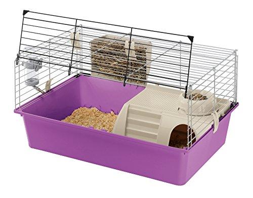 Ferplast Cavie 15, Cages pour Cochons d Inde, Colori Gris Violet