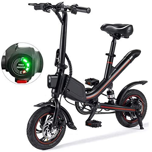MEETGG Bicicletas eléctricas para Adultos, Bicicletas Plegables para Mujeres Ligeras para Hombres City Fitness Outdoor Sporting Desplazamiento