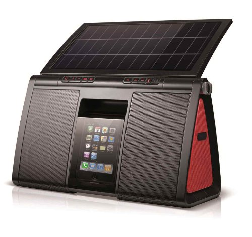 Eton Soulra XL Solar Powered Sound System for iPod and...