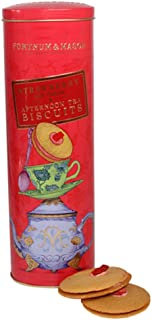Fortnum and Mason. Fortnum's Afternoon Tea Biscuits, Strawberry and Cream, 155g 5.5oz (1 Pack) Usa Stock