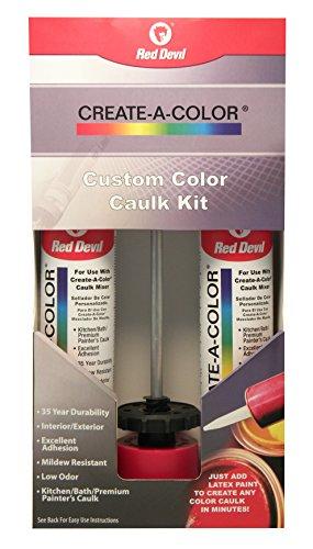 Red Devil 4074 Create-A-Color Caulk Kit