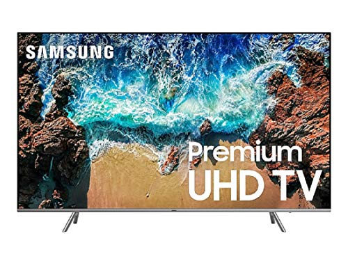 "Samsung UN82NU8000FXZA Flat 82"" 4K UHD 8 Series Smart LED TV (2019)"