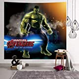 Sonwaohand Spiderman Hulk Les Avengers Tapisserie Plage Jet Tapis Couverture Camping Tente Voyage Tapisserie 150 * 130cm 1