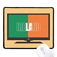 アイルランドの国の旗の名 マウスパッド・ノンスリップゴムパッドのゲーム事務所