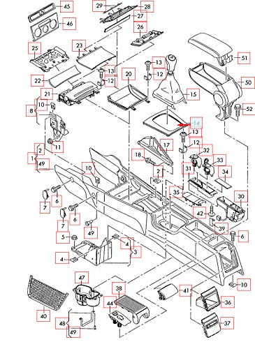 GTV INVESTMENT A3 8PA Schaltsack Surround Trim 8P0864261P 1NK NEU Original 2013
