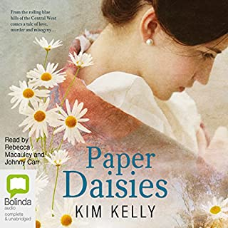 Paper Daisies audiobook cover art