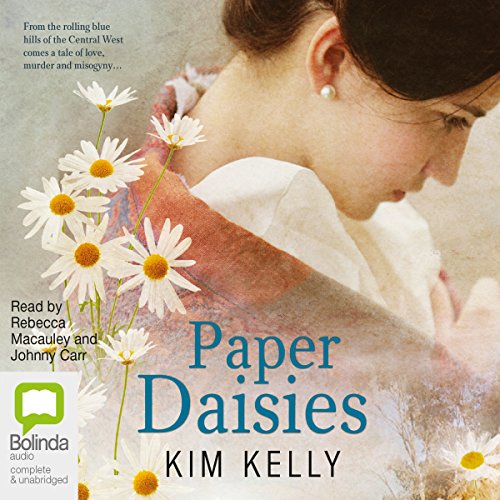 Paper Daisies audiobook cover art