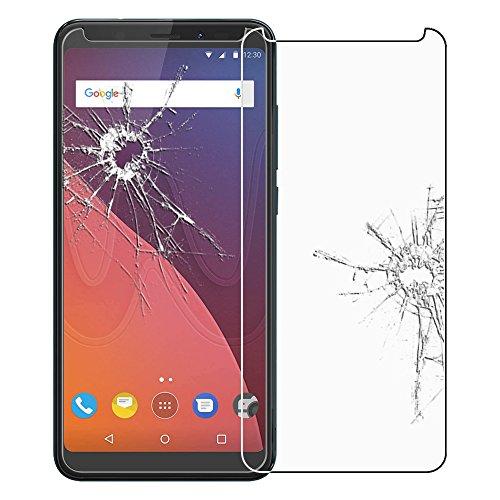 ebestStar - kompatibel mit Wiko View Panzerglas View 16GB 32GB Schutzfolie Glas, Schutzglas Bildschirmschutz, Bildschirmschutzfolie 9H gehärtes Glas [Phone: 151.5 x 73.1 x 8.7mm, 5.7'']