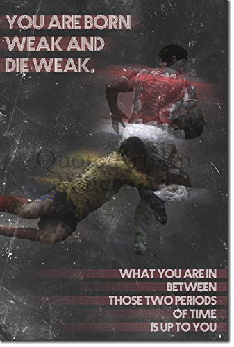 Rugby Motivational Poster 06