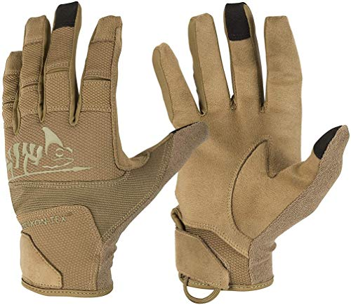 Helikon-Tex Range Tactical Gloves Hard - Coyote/Adaptive Green A, Coyote/Adaptive Green, XL