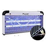 ASPECTEK Electronic Bug Zapper 40W, Insect Killer - Mosquito, Fly, Moth Trap, Upgraded 20W Bulbs- for Residential & Commercial Indoor Use, More Power - Larger Size Visit The ASPECTEK Store