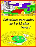 Laberintos para niños de 5 a 12 años Nivel 1: Amazing maze activity book for kids, Three difficulty levels (easy, medium, hard) Details: Cover: ... white, Pages: 46 pages, Format: 8.5x11 inches