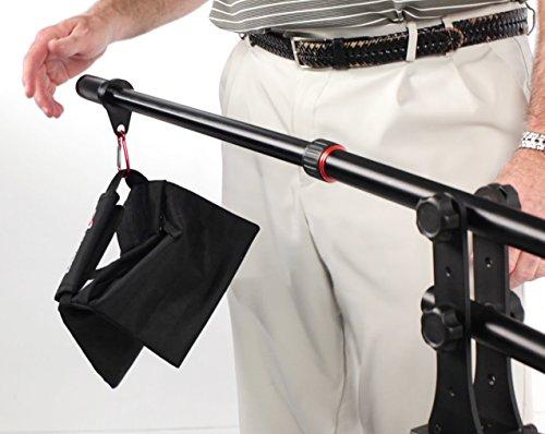 Digital Juice Rocket Jib: Affordable Camera Jib Crane Photo Video - Aluminum Camera Crane Small HD Cameras, Mobile Smartphone, iPhone, GoPro. Extendable Camera Stand w/Balance Bar w/Carrybag