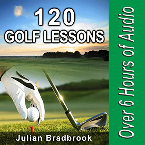 120 Golf Lessons audiobook cover art