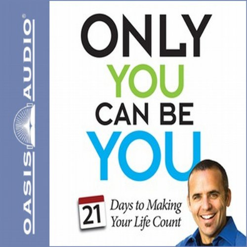 Only You Can Be You audiobook cover art