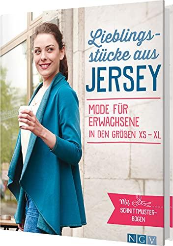 Lieblingsstücke aus Jersey: Mode für Erwachsene in den Größen XS-XL. Mit Schnittmusterbogen