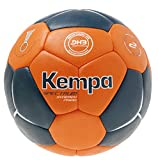 Kempa Spectrum Synergy Primo Ballon de Handball Pétrole/Shock Orange Taille 1