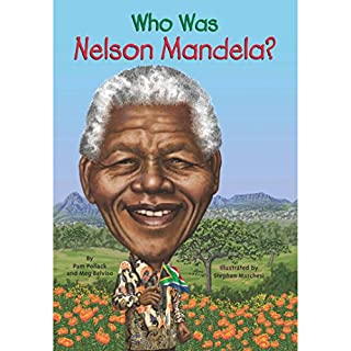 Who Was Nelson Mandela? cover art