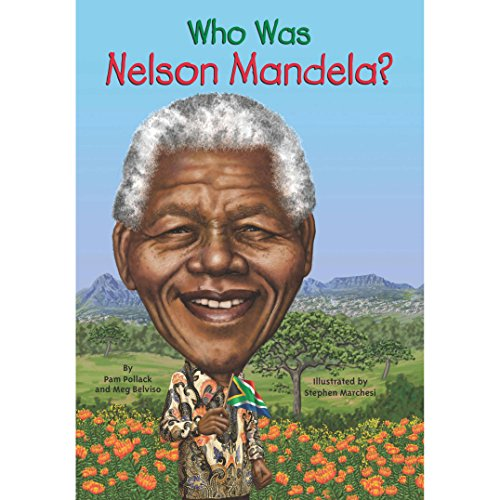Who Was Nelson Mandela? audiobook cover art