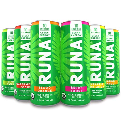 Organic Clean Energy Drink by RUNA, Sampler Pack $5