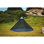 OneTigris HOWLINGTOP Ultralight Mesh Teepee for Smokey Hut Hot Tent, Weighs 2.2Ib 3