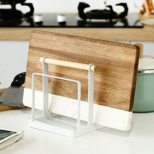 De style japonais coupe des barres de fer forgé couteau support de pot de support de planche à découper de cuisine cuisine gant de...