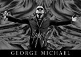 George Michael Tribute Poster – # 13 – 2016 Pop Star