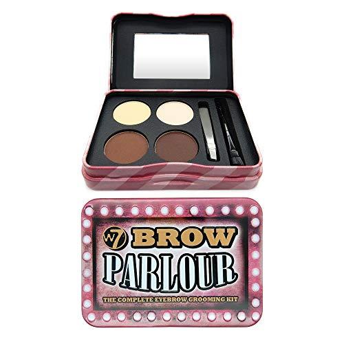 W7 | Eyebrow Kit | Brow Parlour Eyebrow Grooming Kit | Shape and Tame Your Brow