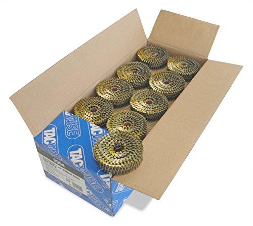 Tacwise 0994 Nagelspule Geradflächig Ring Glänzend ( 2,1/35mm,14.400 Stück pro Verpackung)