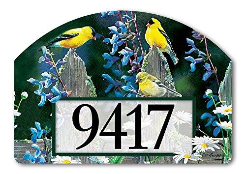 Yard Design Finch Zaunpfahl (begriffsklärung) Yard Sign # 77128–