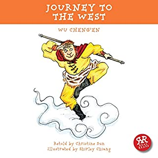 Journey to the West audiobook cover art