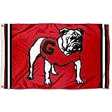College Flags & Banners Co. Georgia Bulldogs Vintage Retro Throwback 3x5 Banner Flag