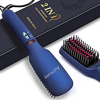 Auincuey Hair Straightener Brush