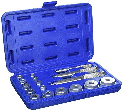 Blue Spot Tools 07901 Kit Driver di Tenuta e Corsa Cuscinetto, Argento, Set di 17 Pezzi
