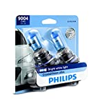 Philips 9004 CrystalVision Ultra Upgrade Headlight Bulb, 2 Pack