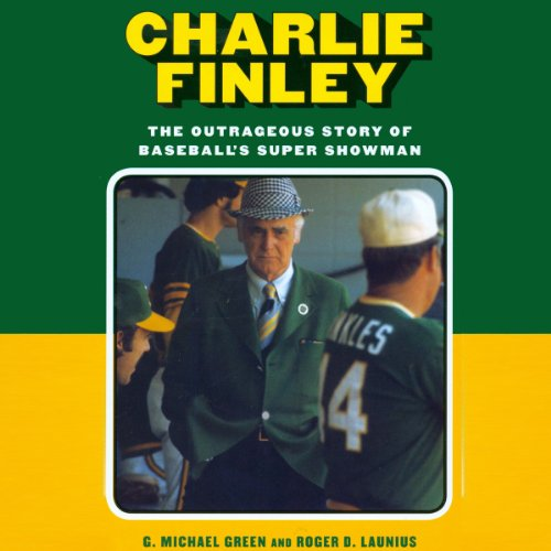 Charlie Finley audiobook cover art