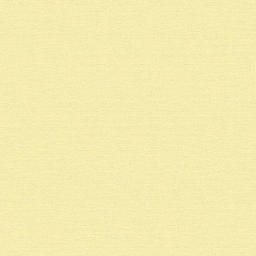 A.S. Création Vliestapete Björn Tapete Uni 10,05 m x 0,53 m gelb Made in Germany 353214 3532-14