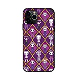 QIAOBS JoJo's Bizarre Adventure Case for iPhone, Japan Anime Silica Gel Protective Shell iPhone 11/ X/ 8/ A iPhone Xr/XS /11 Pro Max,A,iPhone 11