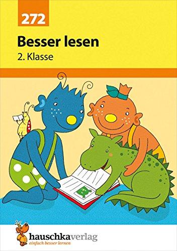 Besser lesen 2. Klasse, A5- Heft (Deutsch: Besser lesen, Band 272)