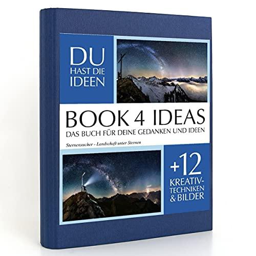 BOOK 4 IDEAS classic   Sternensucher - Landschaft unter Sternen, Eintragbuch mit Bildern